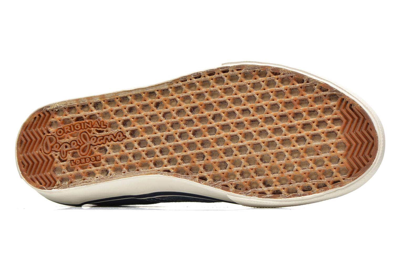 Trainers Pepe jeans Harry Slip On Blue view from above