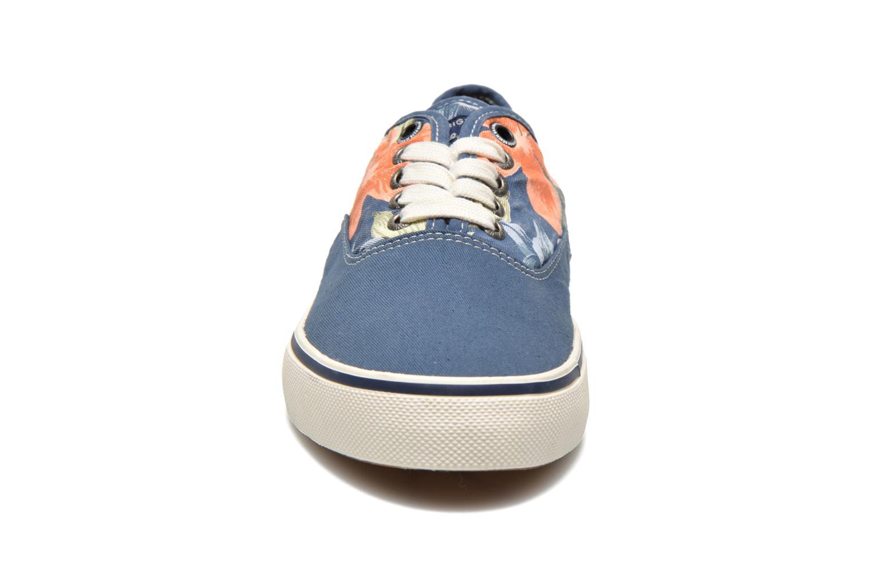 Baskets Pepe jeans Harry Laces Bleu vue portées chaussures