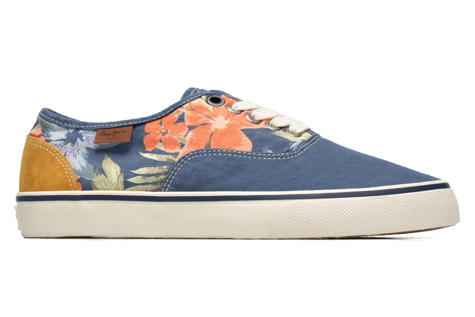 Sneakers Pepe jeans Harry Laces Blauw achterkant