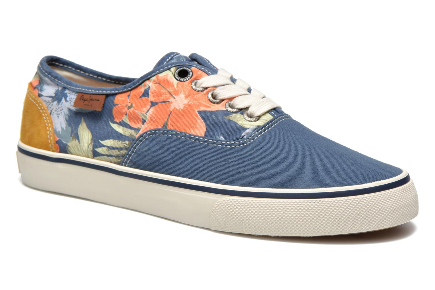 Sneakers Pepe jeans Harry Laces Blauw detail