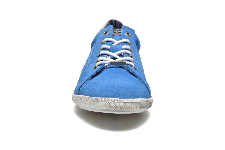 Sneaker Pepe jeans Wiiliam Low blau schuhe getragen