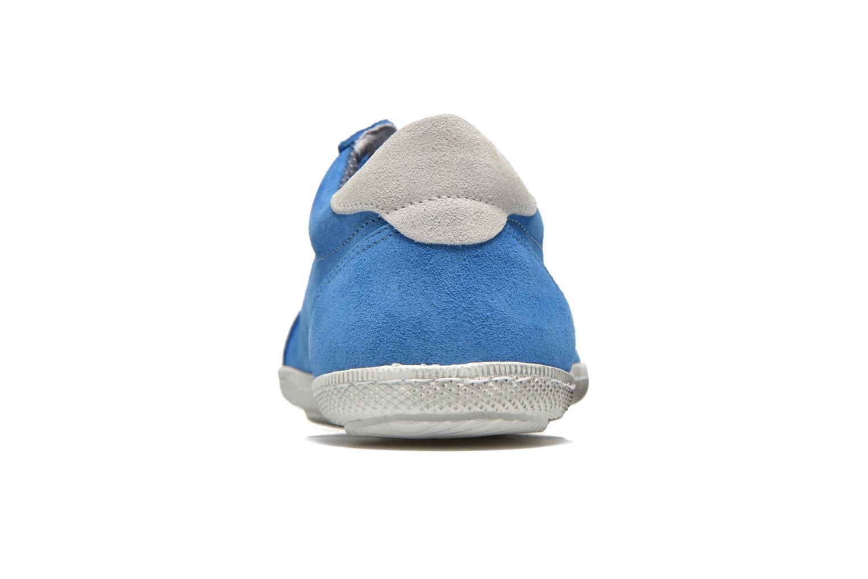 Sneaker Pepe jeans Wiiliam Low blau ansicht von rechts