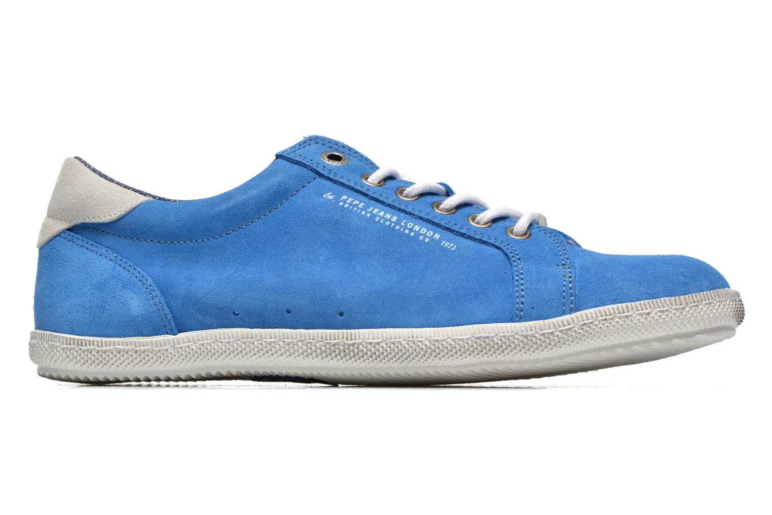 Trainers Pepe jeans Wiiliam Low Blue back view