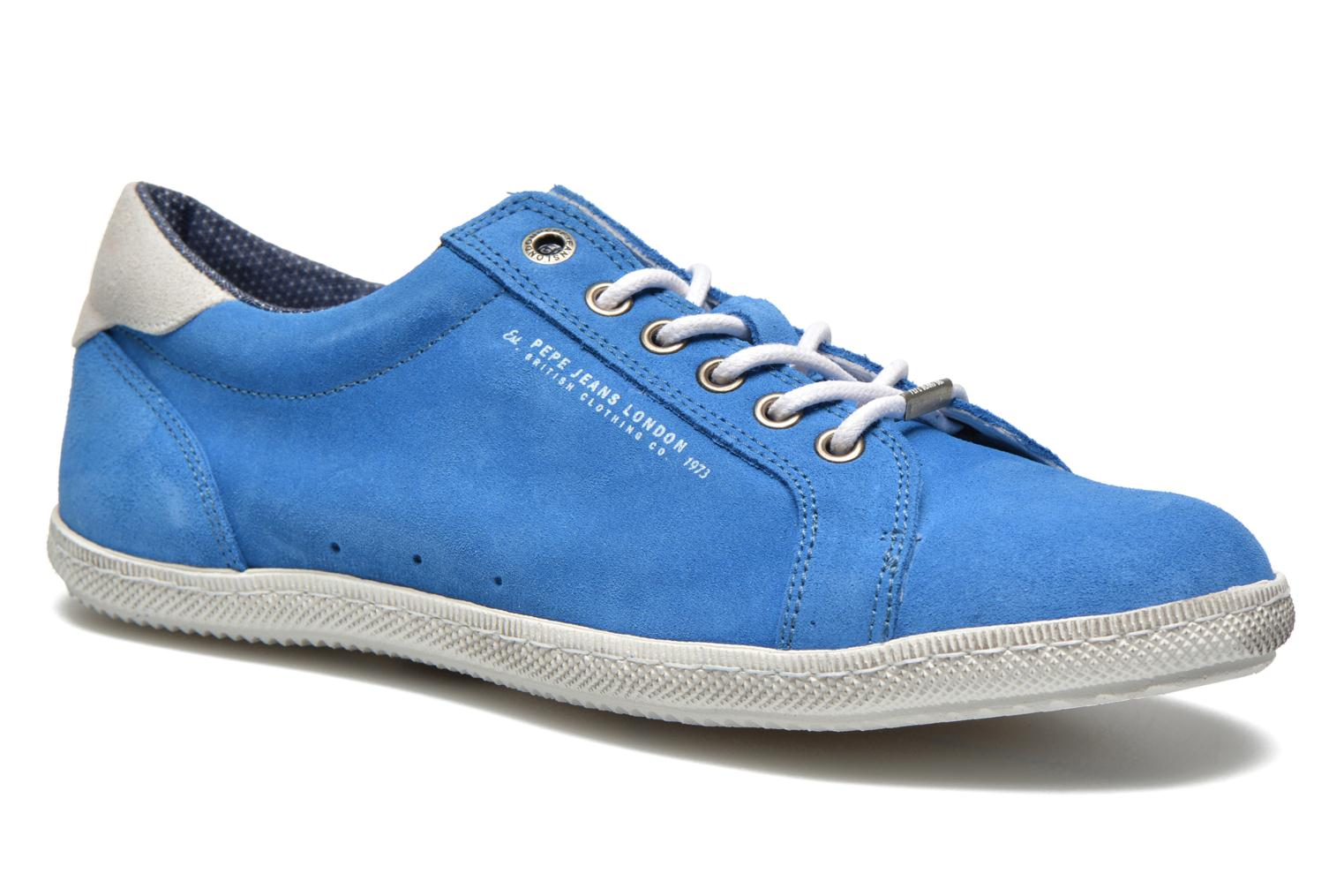 Trainers Pepe jeans Wiiliam Low Blue detailed view/ Pair view