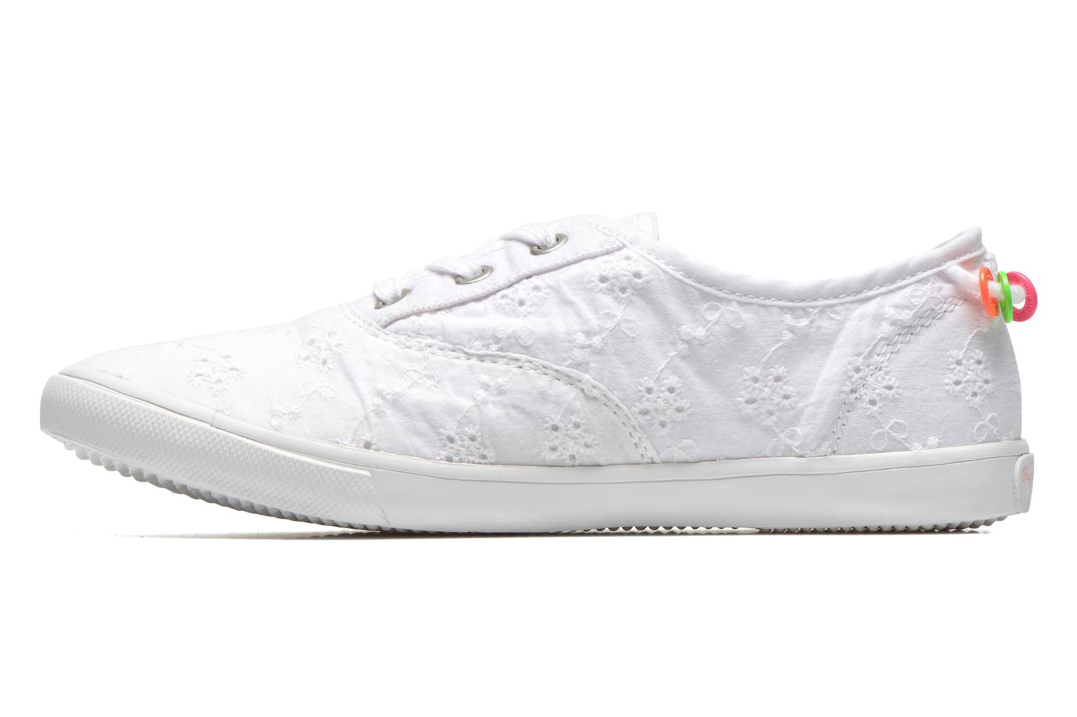 Soho Embroidery White