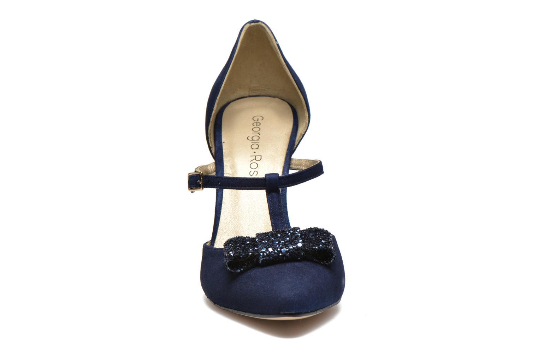 Escarpins Georgia Rose Jubile Bleu vue portées chaussures