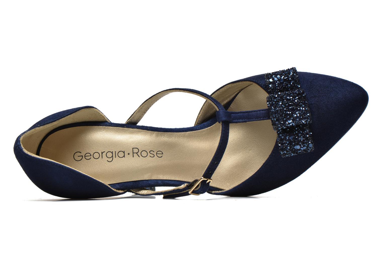 Escarpins Georgia Rose Jubile Bleu vue gauche