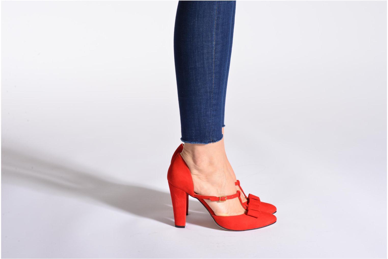 Zapatos de tacón Georgia Rose Jubile Negro vista de abajo