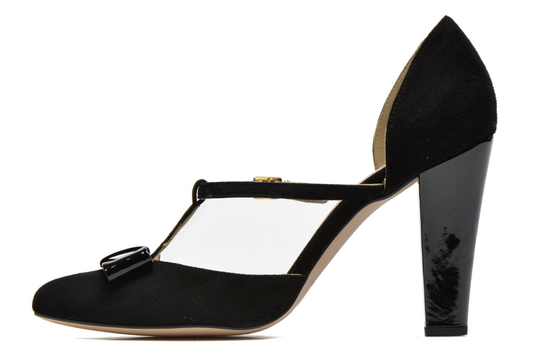 Zapatos de tacón Georgia Rose Jubile Negro vista de frente