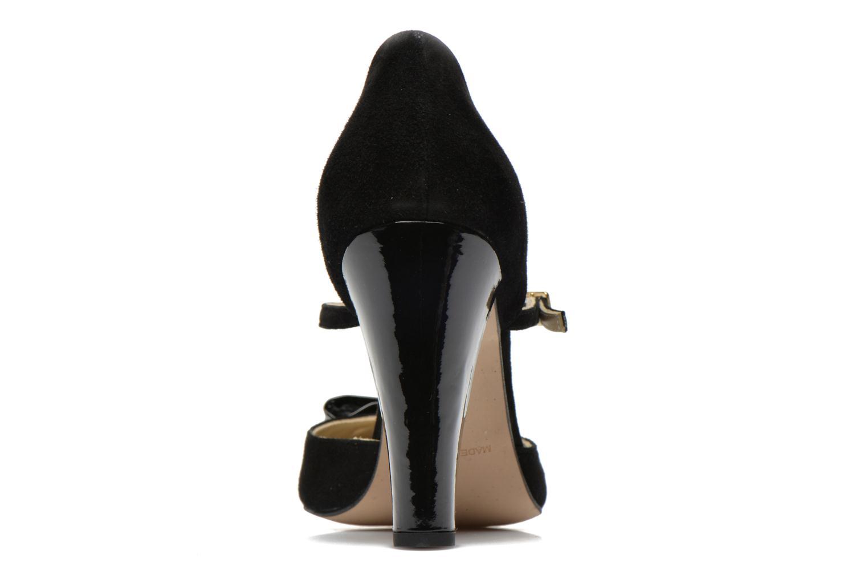 Zapatos de tacón Georgia Rose Jubile Negro vista lateral derecha