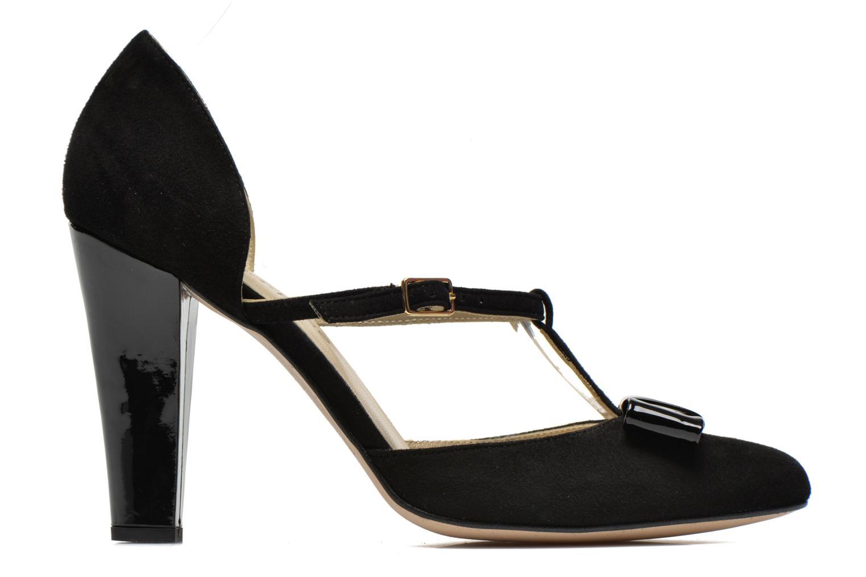 Zapatos de tacón Georgia Rose Jubile Negro vistra trasera