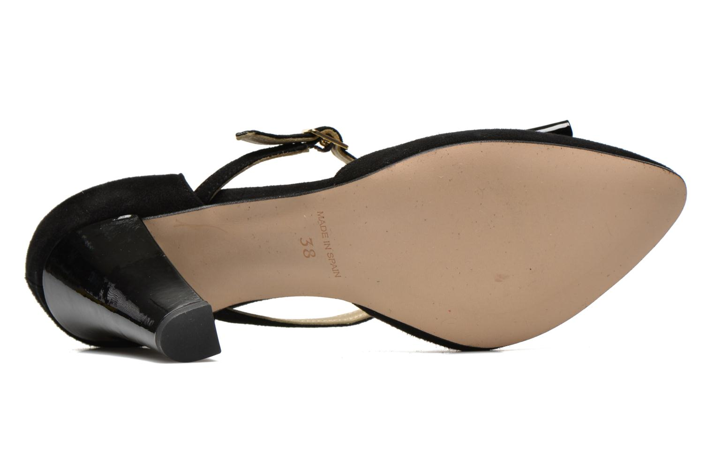 Zapatos de tacón Georgia Rose Jubile Negro vista de arriba