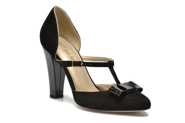 Zapatos de tacón Georgia Rose Jubile Negro vista de detalle / par