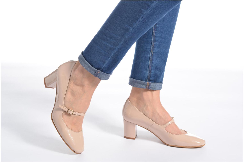 Zapatos de tacón Georgia Rose Tex new Rojo vista de abajo