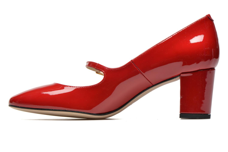 Zapatos de tacón Georgia Rose Tex new Rojo vista de frente