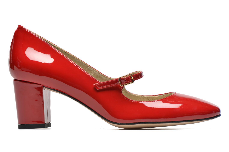 Zapatos de tacón Georgia Rose Tex new Rojo vistra trasera