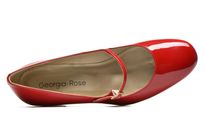 Zapatos de tacón Georgia Rose Tex new Rojo vista lateral izquierda