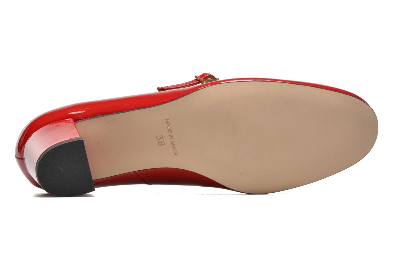 Zapatos de tacón Georgia Rose Tex new Rojo vista de arriba