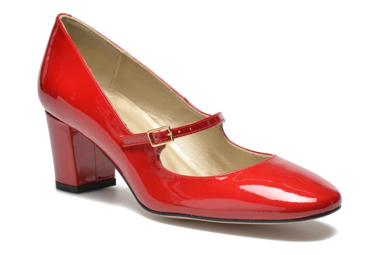 Høje hæle Georgia Rose Tex new Rød detaljeret billede af skoene
