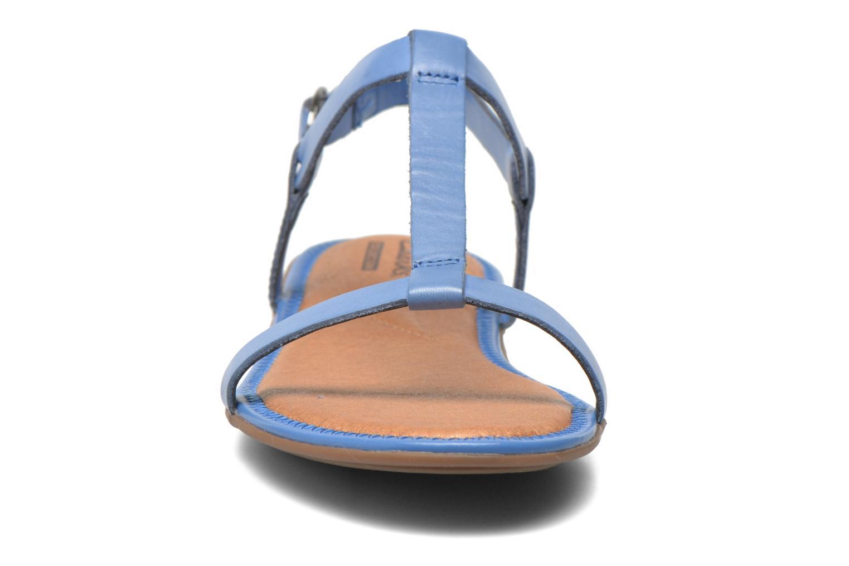 Sandalen Clarks Risi Hop blau schuhe getragen