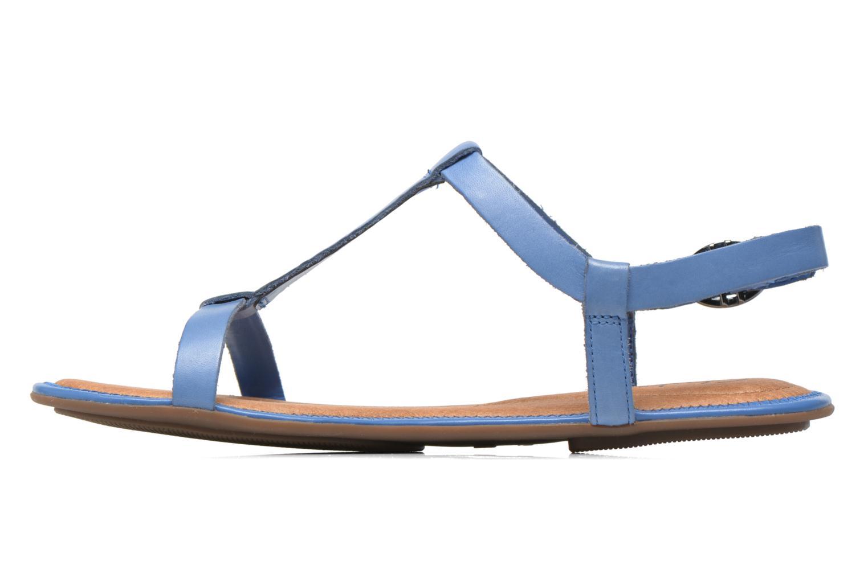 Sandalen Clarks Risi Hop blau ansicht von vorne