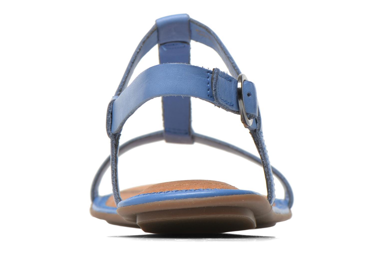 Sandalen Clarks Risi Hop blau ansicht von rechts