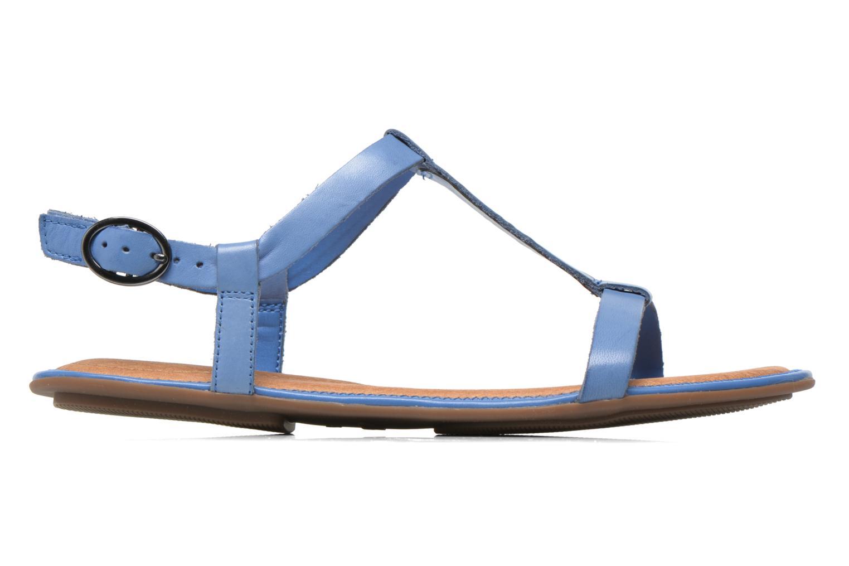 Sandalen Clarks Risi Hop blau ansicht von hinten