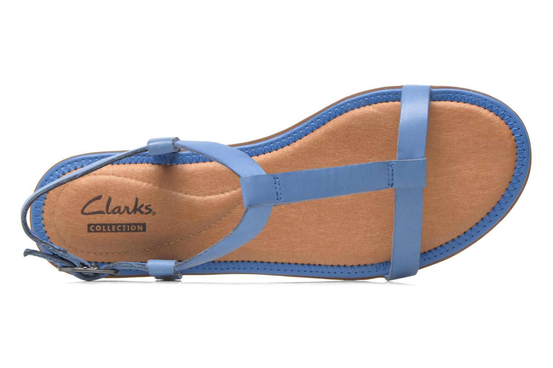 Sandalen Clarks Risi Hop blau ansicht von links