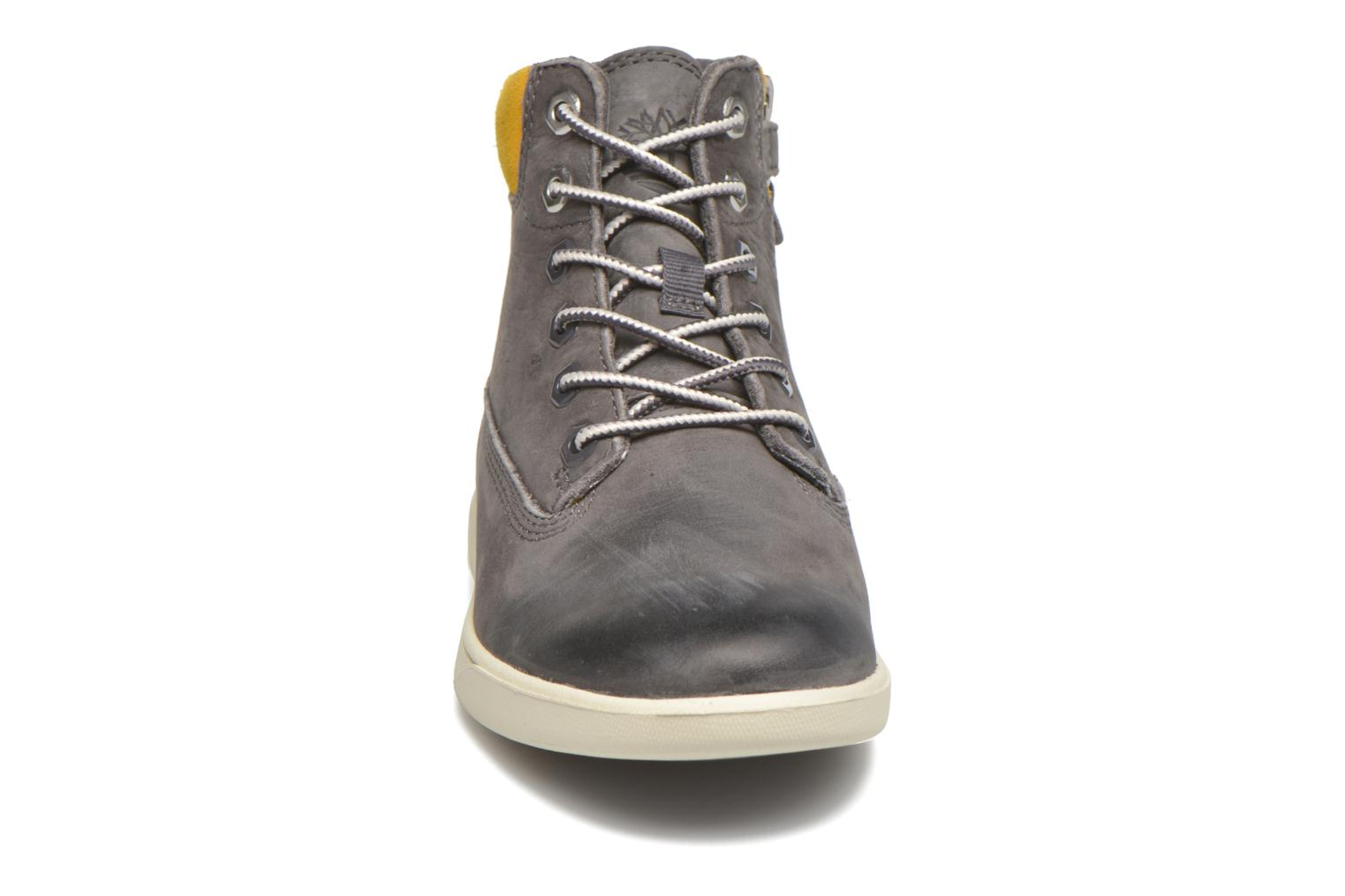 Bottines et boots Timberland Groveton 6In Lace with si Gris vue portées chaussures
