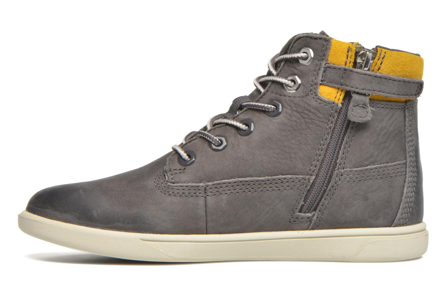Ankle boots Timberland Groveton 6In Lace with si Grey front view