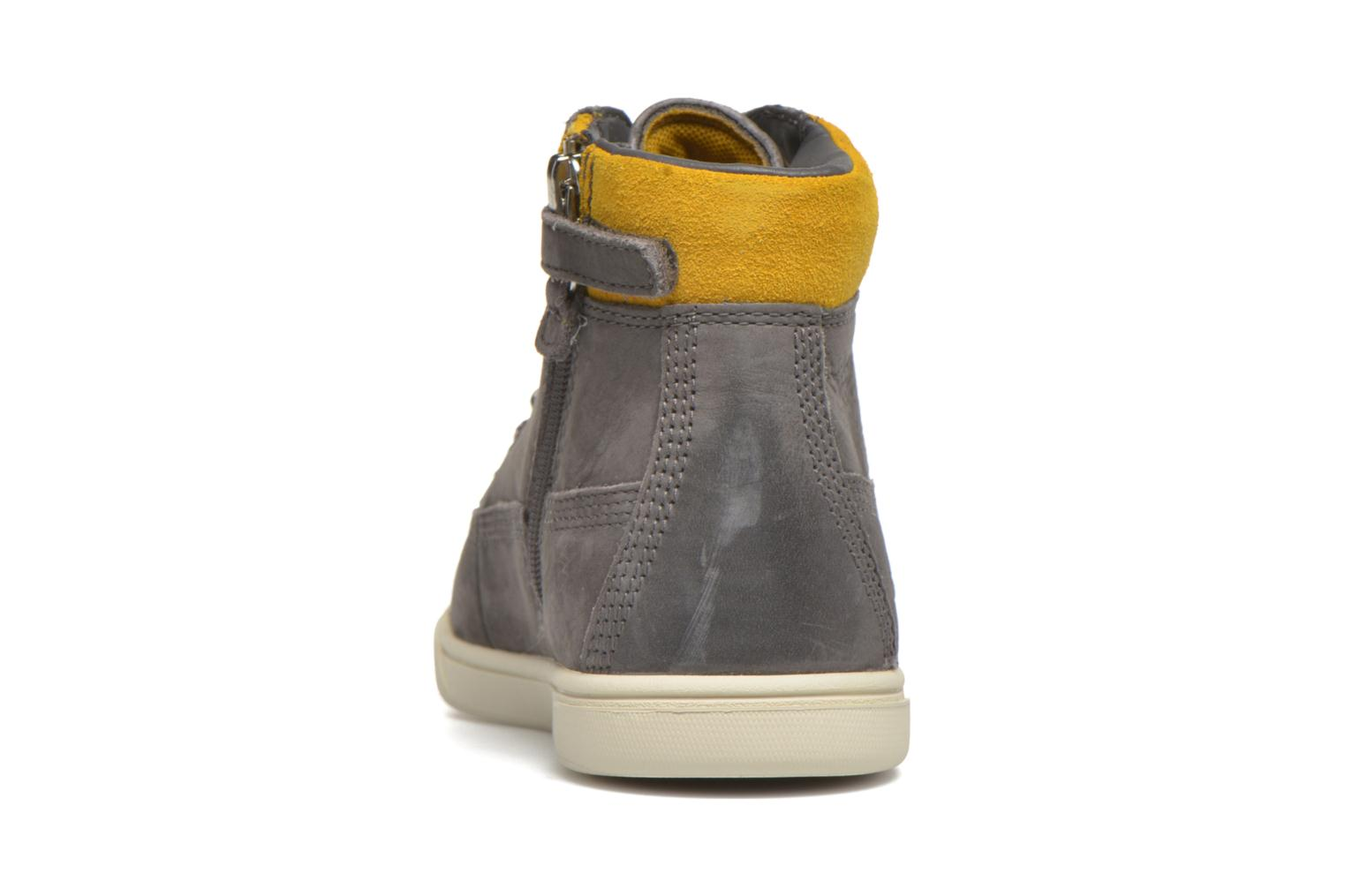 Bottines et boots Timberland Groveton 6In Lace with si Gris vue droite