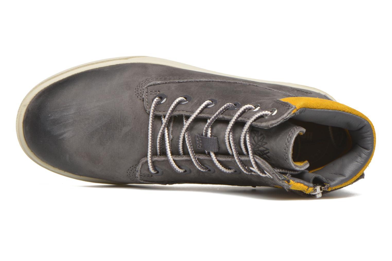 Boots en enkellaarsjes Timberland Groveton 6In Lace with si Grijs links