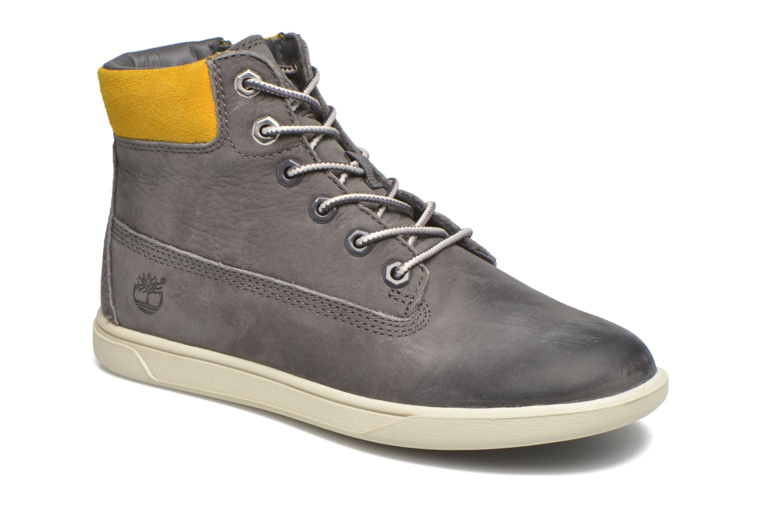 Bottines et boots Timberland Groveton 6In Lace with si Gris vue détail/paire