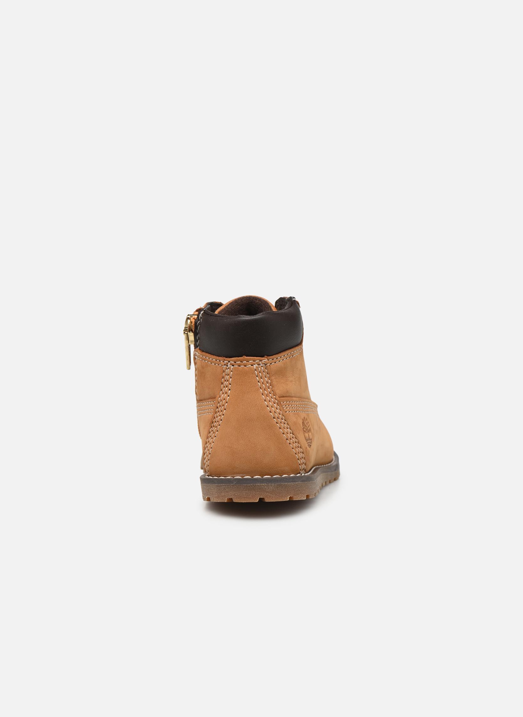 Boots en enkellaarsjes Timberland Pokey Pine 6In Boot with Beige rechts
