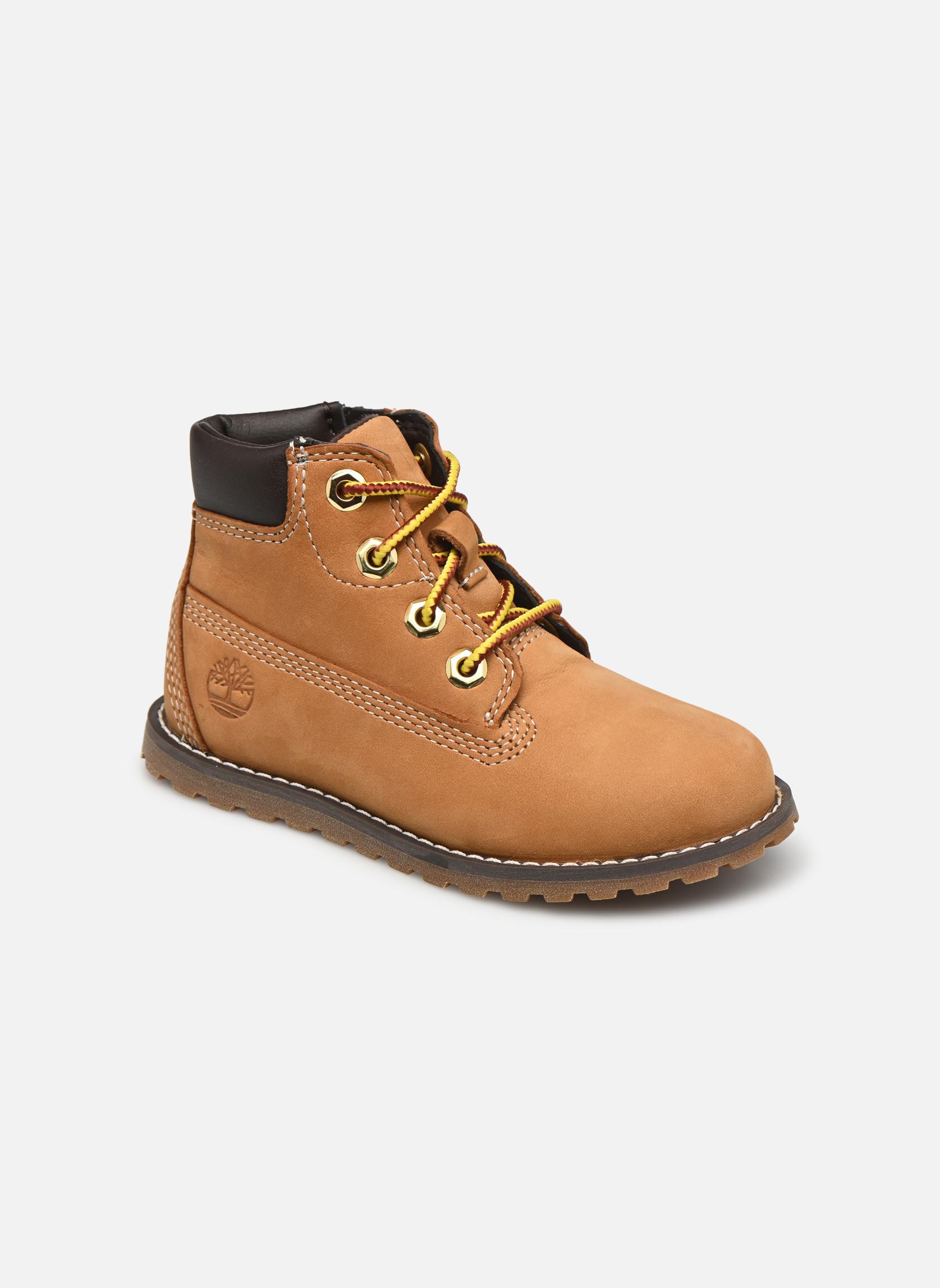 Boots en enkellaarsjes Timberland Pokey Pine 6In Boot with Beige detail
