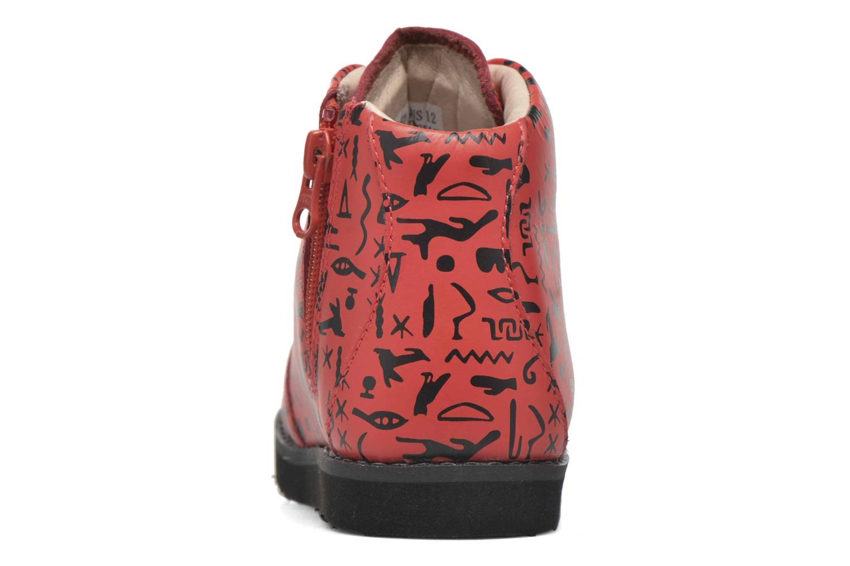 I Akid Jasper Egyption Black Print Red drIrzn8