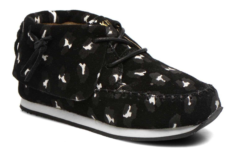 Stone Black leopard