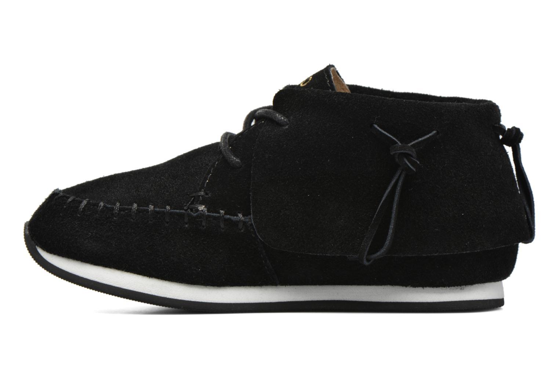 Sneaker Akid Stone schwarz ansicht von vorne