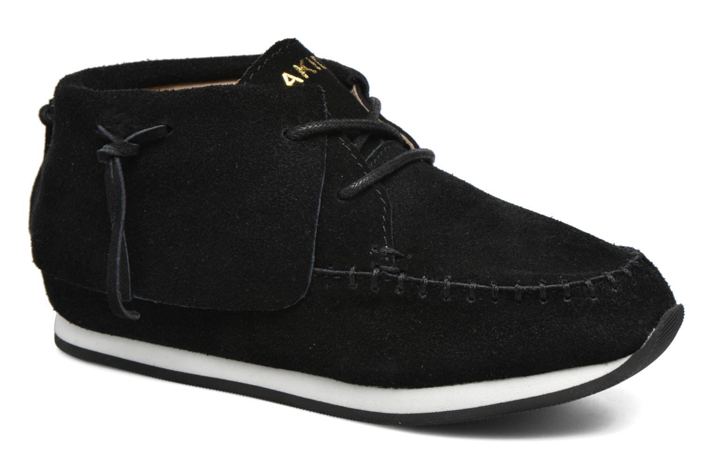 Sneakers Akid Stone Sort detaljeret billede af skoene