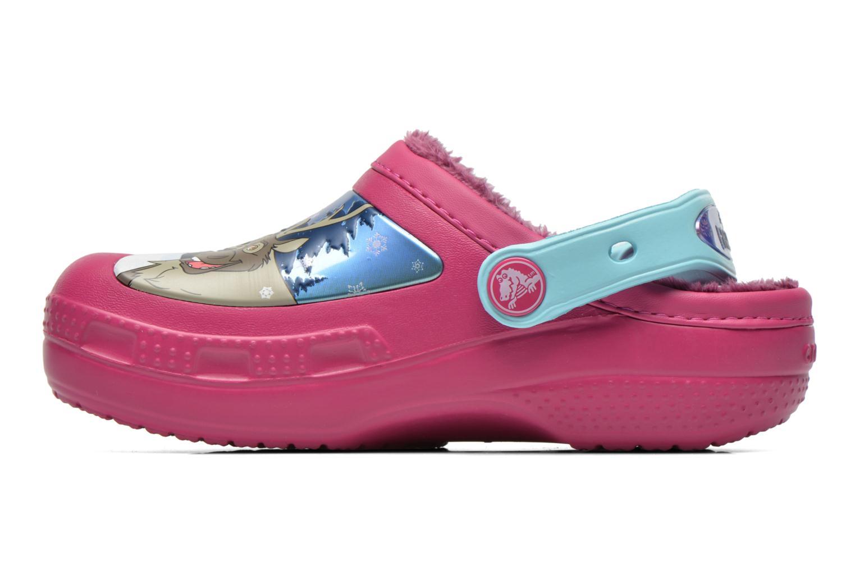Sandales et nu-pieds Crocs CC Frozen Lined Clog Violet vue face
