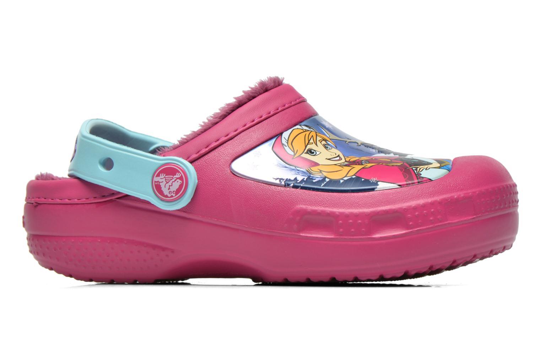 Sandales et nu-pieds Crocs CC Frozen Lined Clog Violet vue derrière