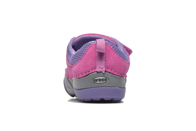 Baskets Crocs Dawson Easy-on Shoe K Rose vue droite