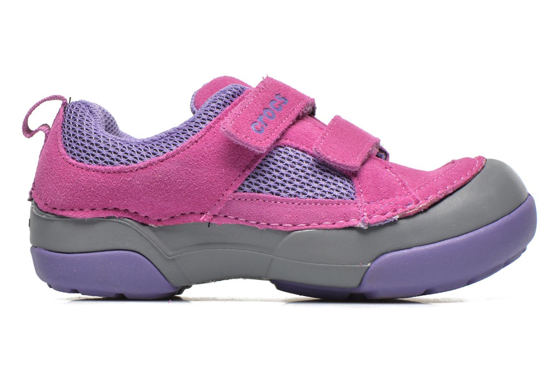 Baskets Crocs Dawson Easy-on Shoe K Rose vue derrière