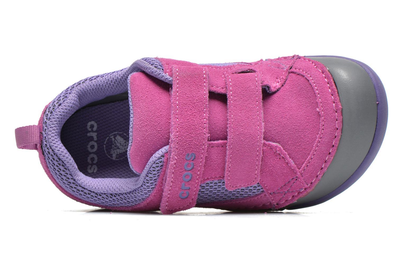 Baskets Crocs Dawson Easy-on Shoe K Rose vue gauche