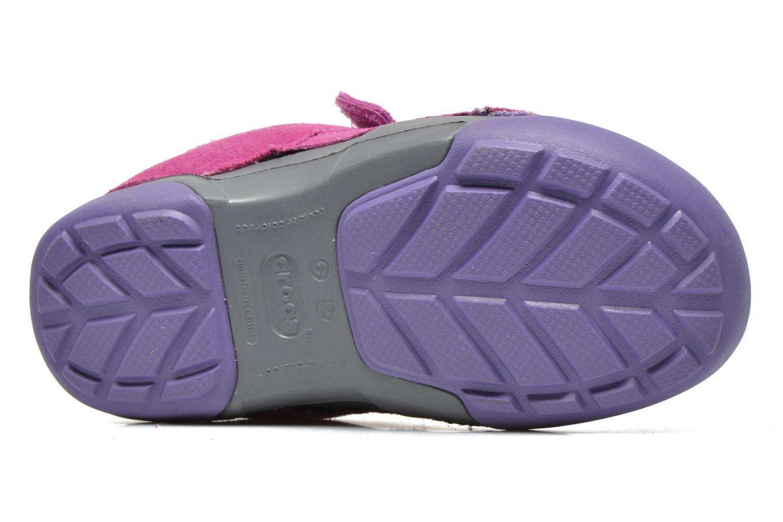 Baskets Crocs Dawson Easy-on Shoe K Rose vue haut