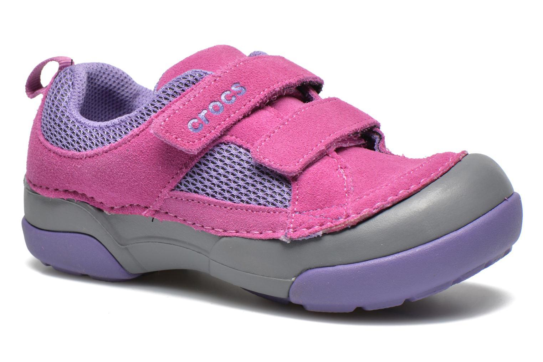 Baskets Crocs Dawson Easy-on Shoe K Rose vue détail/paire