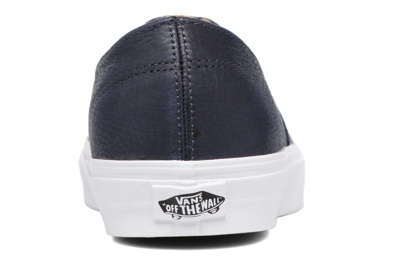 Baskets Vans Authentic Decon Bleu vue droite