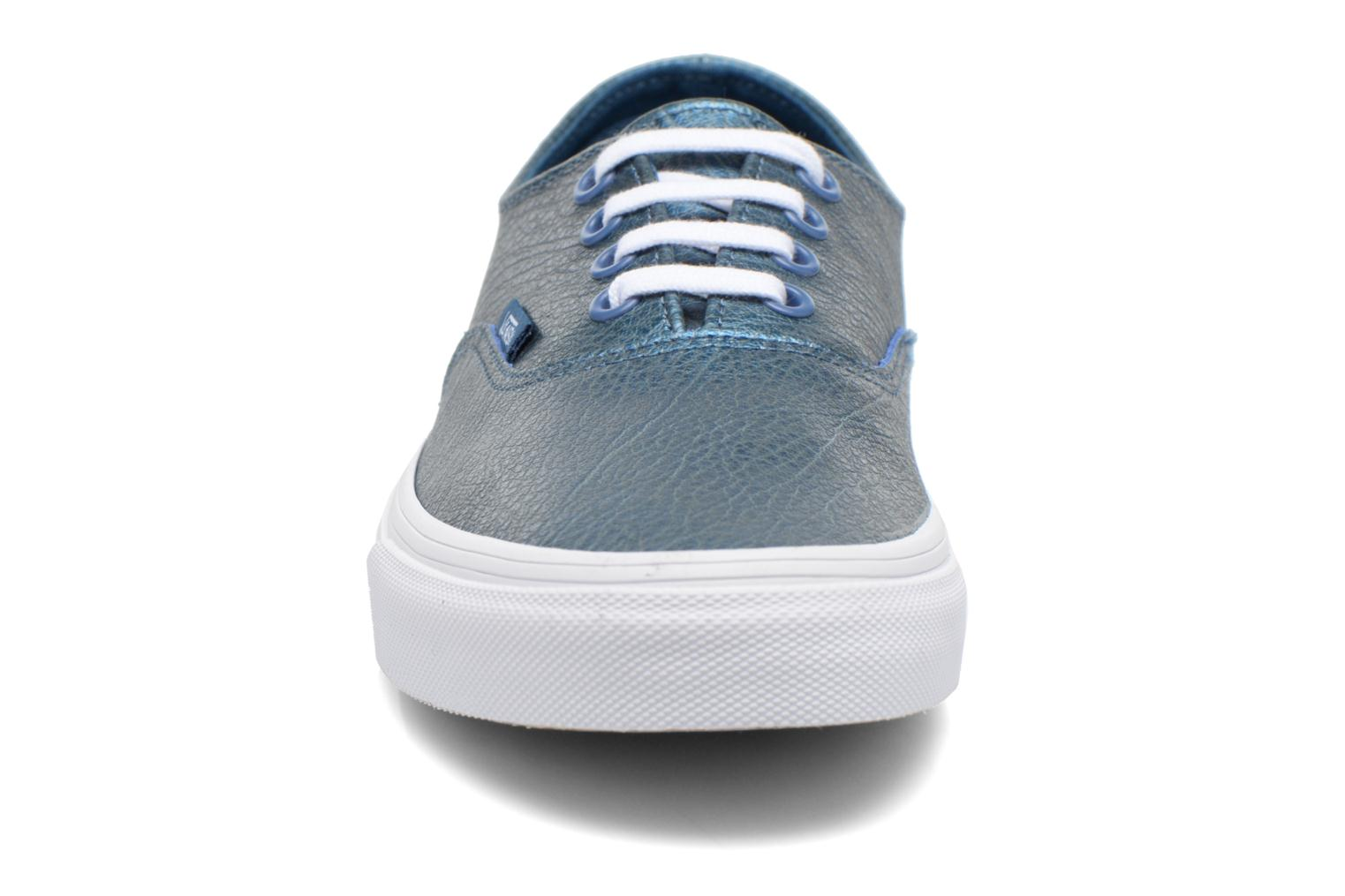 Sneaker Vans Authentic Decon W blau schuhe getragen