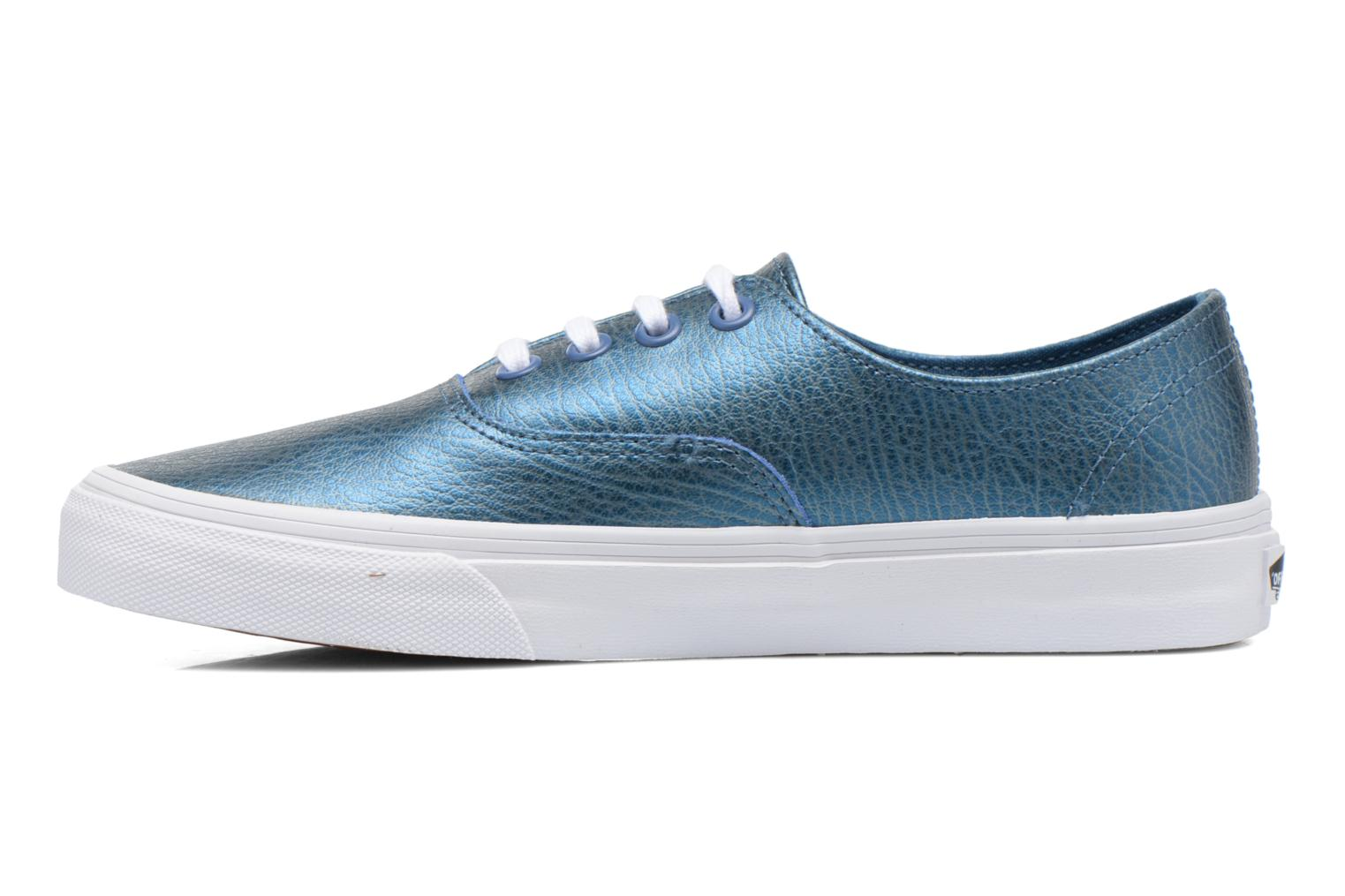 Trainers Vans Authentic Decon W Blue front view
