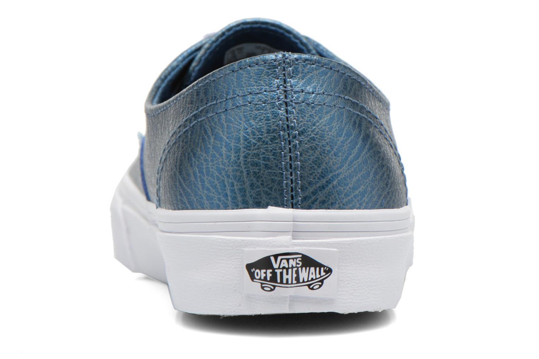 Sneaker Vans Authentic Decon W blau ansicht von rechts